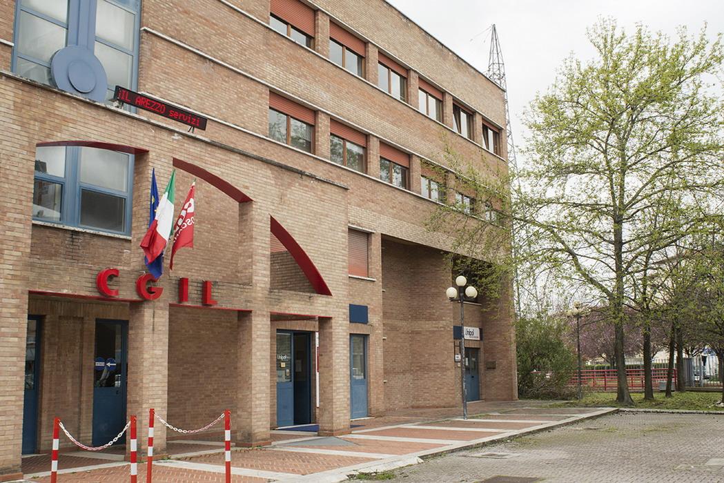 Sede Cgil Arezzo