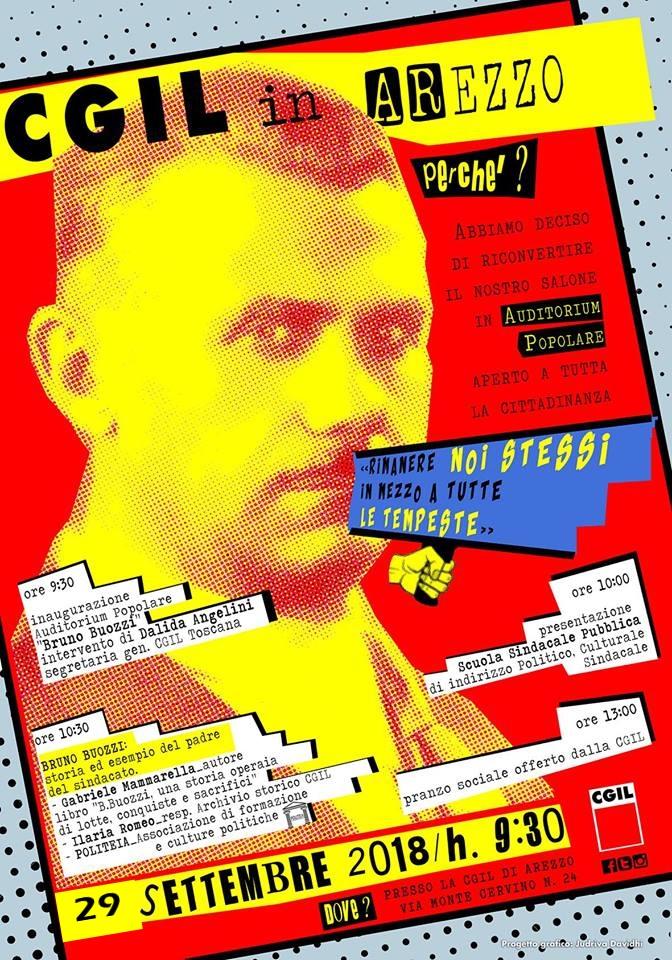 manifesto bruno buozzi 29 settembre 2018
